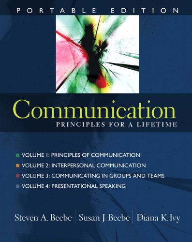 9780205609826: Communication: Portable Edition, Four-Volume Set