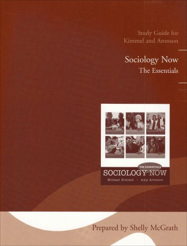 9780205610457: Study Guide for Sociology Now: The Essentials