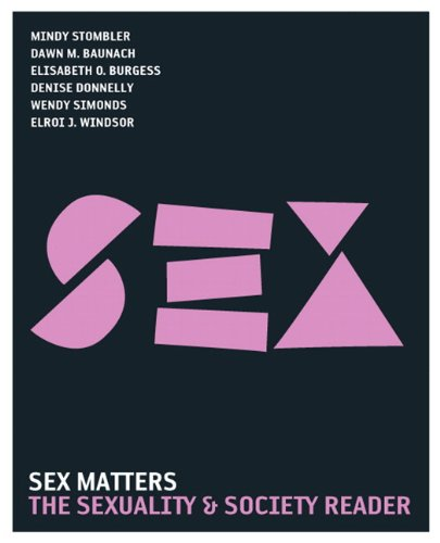 9780205610617: Sex Matters: The Sexuality and Society Reader