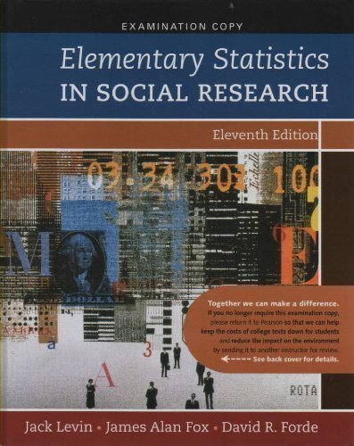 9780205610716: Elementary Statistics in Social Research Eleventh Edition
