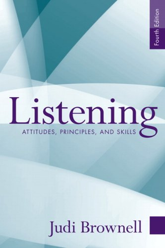 9780205611195: Listening: Attitudes, Principles, and Skills (4th Edition)