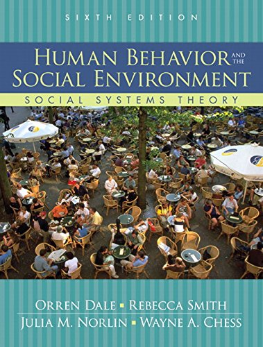 9780205613694: Human Behavior and the Social Environment: Social Systems Theory (6th Edition)