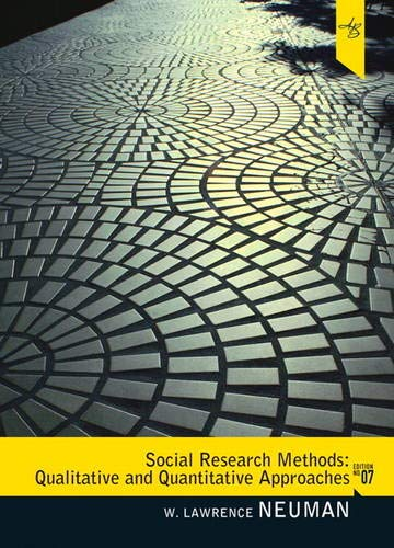 9780205615964: Social Research Methods: Qualitative and Quantitative Approaches (7th Edition)