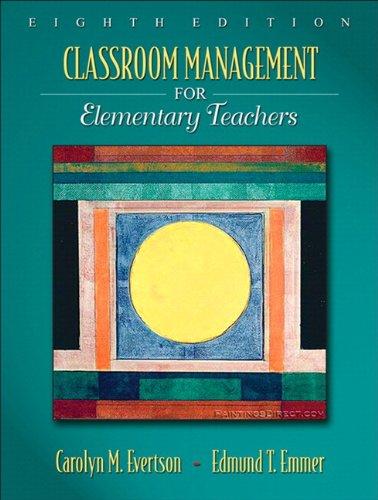 9780205616114: Classroom Management for Elementary Teachers