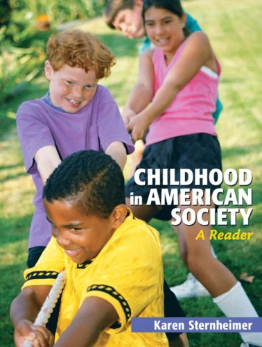 9780205617135: Childhood in American Society: A Reader