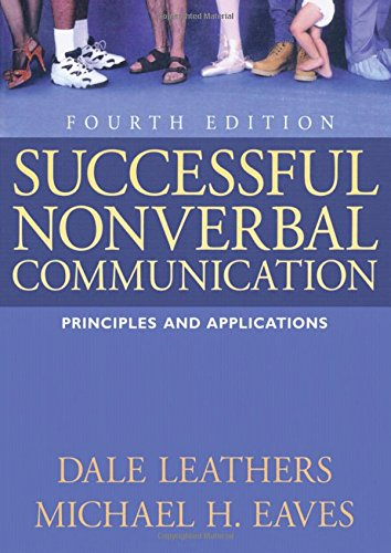9780205617425: Successful Nonverbal Communication: Principles and Applications
