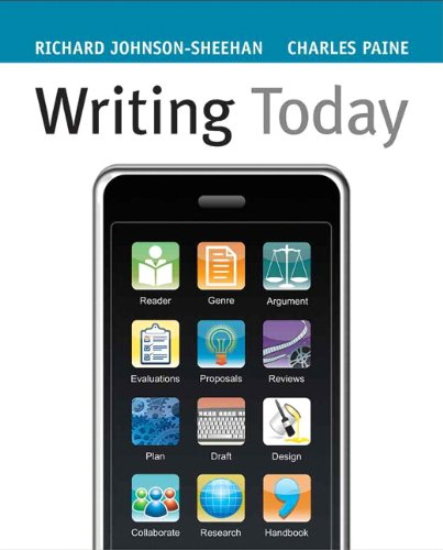 9780205617449: Writing Today
