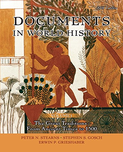 9780205617890: Documents in World History, Volume 1 (5th Edition)