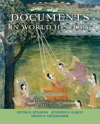 9780205619474: Documents in World History, Volume 2 (5th Edition)