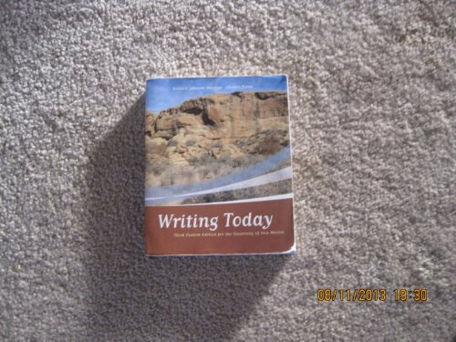 9780205619573: Writing Today: Brief Edition