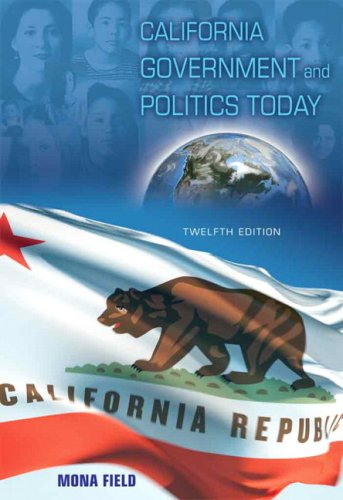 9780205620074: California Government and Politics Today (12th Edition)