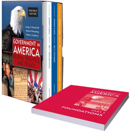 9780205621668: Government in America: People, Politics, and Policy (Portable Version) (13th Edition)