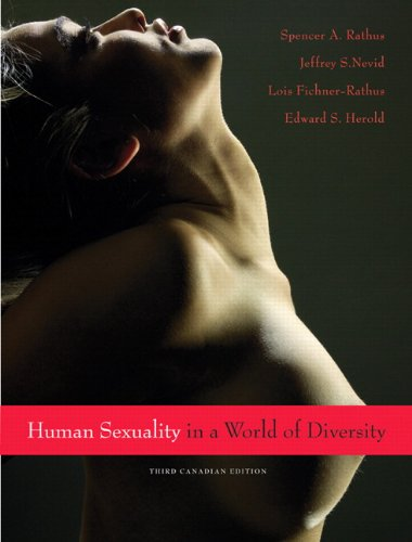 9780205622771: Human Sexuality in a World of Diversity, Third Canadian Edition