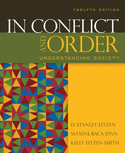 9780205625130: In Conflict and Order: Understanding Society (Mysockit)