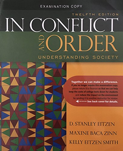 9780205625154: In Conflict and Order: Understanding Society (Twelth Edition, Examination Copy)