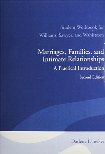 9780205625352: Student Workbook for Marriages, Families, and Intimate Relationships: A Practical Introduction
