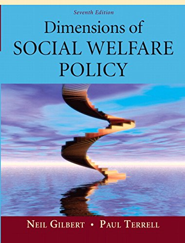 9780205625741: Dimensions of Social Welfare Policy (7th Edition)