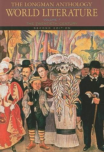 9780205625949: The Longman Anthology of World Literature, Volume F: The Twentieth Century: Twentieth Century v. F