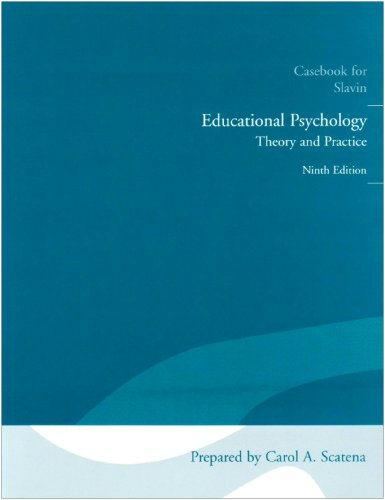 9780205626212: Educational Psychology: Casebook: Theory and Practice