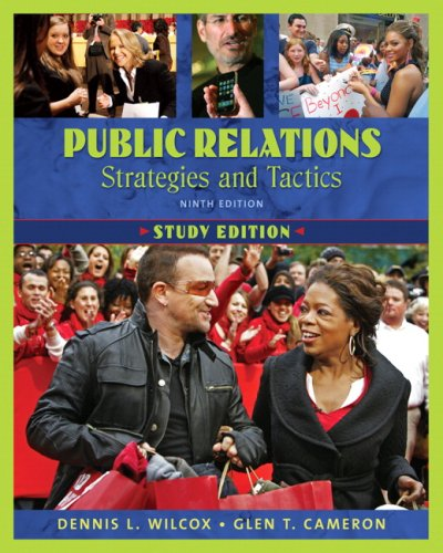 9780205626229: Public Relations: Strategies and Tactics, Study Edition (9th Edition)