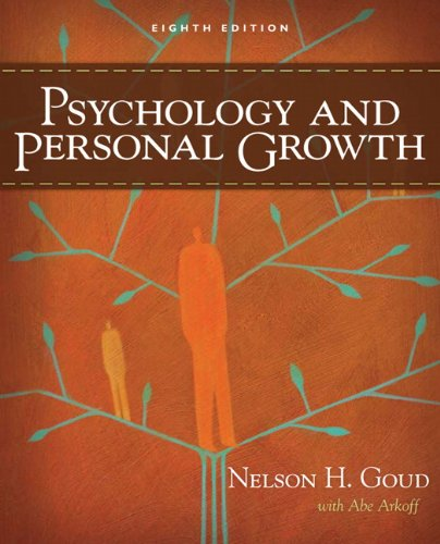 9780205626755: Psychology and Personal Growth (8th Edition)
