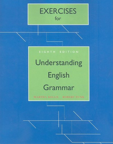 9780205626885: Exercise Book for Understanding English Grammar