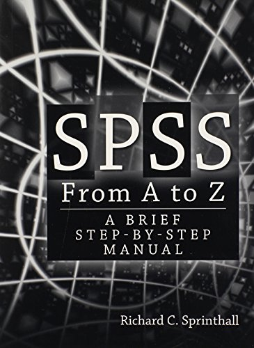 9780205626984: SPSS from A to Z: A Brief Step-by-Step Manual