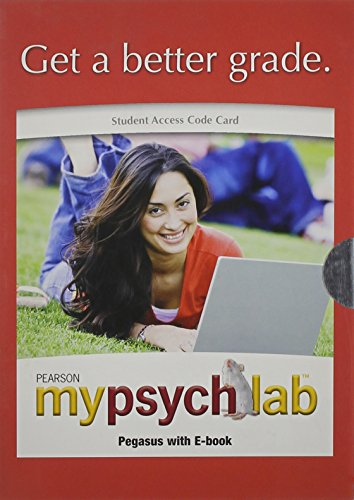 9780205627356: MyPsychLab Pegasus with E-Book Student Access Code Card