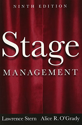Stage Management (9th Edition): Lawrence Stern, Alice