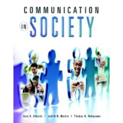 9780205627875: Communication in Society