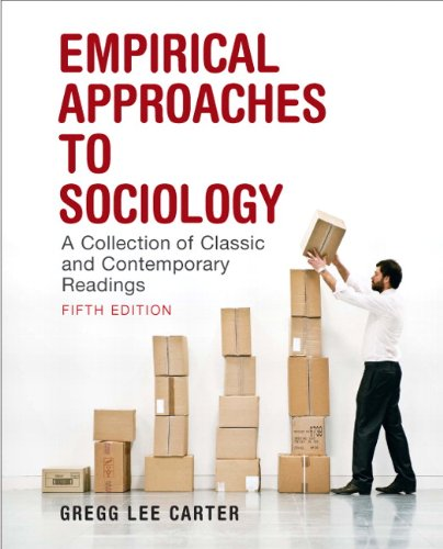 9780205628094: Empirical Approaches to Sociology: A Collection of Classic and Contemporary Readings (5th Edition)