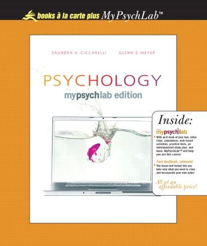 9780205629558: Psychology MyLab Edition, Unbound (for Books a la Carte Plus)