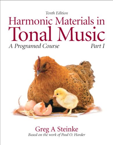 9780205629718: Harmonic Materials in Tonal Music: A Programmed Course, Part 1 (10th Edition) (Pt. 1)
