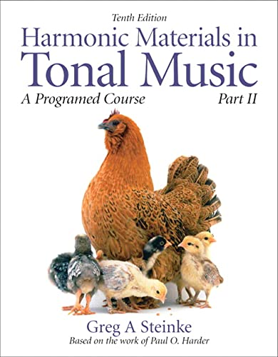 9780205629756: Harmonic Materials in Tonal Music: A Programmed Course, Part 2 (10th Edition) (Pt. 2)