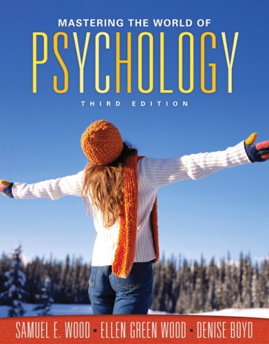 9780205630523: Mastering the World of Psychology Value Pack (includes MyPsychLab with E-Book Student Access& What Every Student Should Know About Avoiding Plagiarism)