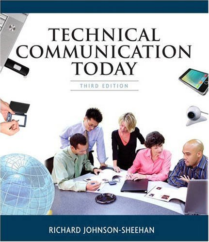 9780205632442: Technical Communication Today (3rd Edition)