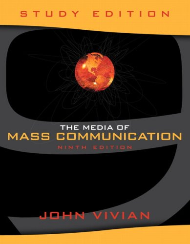 9780205632541: Media of Mass Communication, The, Study Edition (9th Edition)