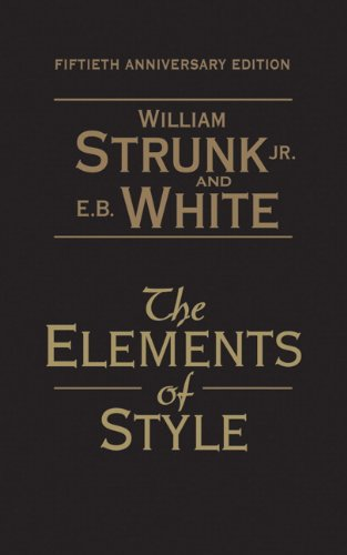 9780205632640: The Elements of Style: 50th Anniversary Edition