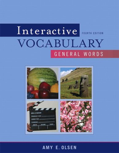 9780205632718: Interactive Vocabulary: General Words