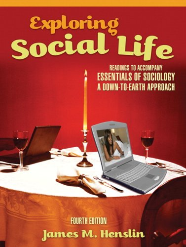 9780205633067: Exploring Social Life: Readings to Accompany Essentials of Sociology: A Down-to-Earth Approach (4th Edition)