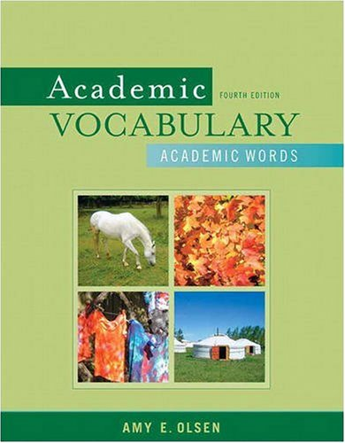9780205633180: Academic Vocabulary: Academic Words (4th Edition)