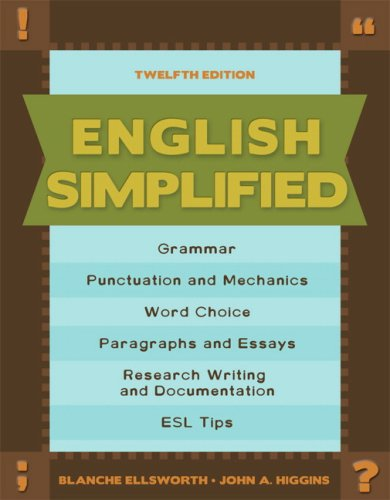 9780205633296: English Simplified (12th Edition)