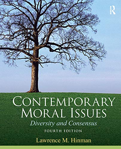 9780205633609: Contemporary Moral Issues: Diversity and Consensus