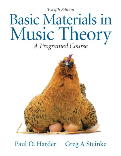9780205633937: Basic Materials in Music Theory: A Programed Approach with Audio CD (12th Edition)