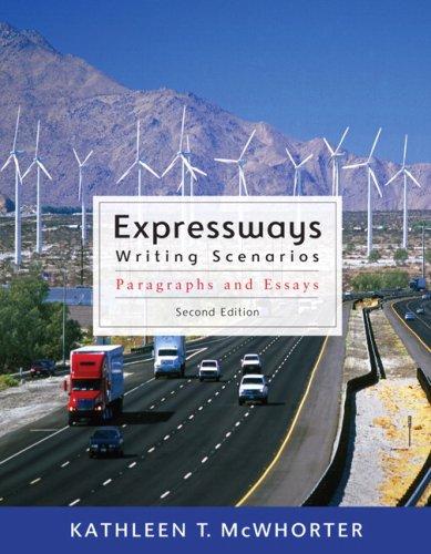 Expressways: Writing Scenarios (with MyWritingLab Student Access: Kathleen T. McWhorter