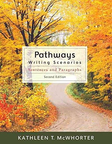 9780205634347: Pathways for Writing Scenarios: From Sentence to Paragraph