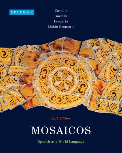 9780205636075: Mosaicos, Volume 3 (Mosaicos (Numbered))