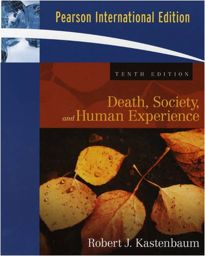 9780205637768: Death, Society and Human Experience