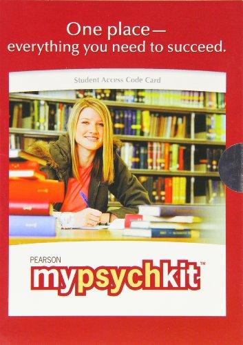 MyPsychKit - Valuepack Access Card: Pearson