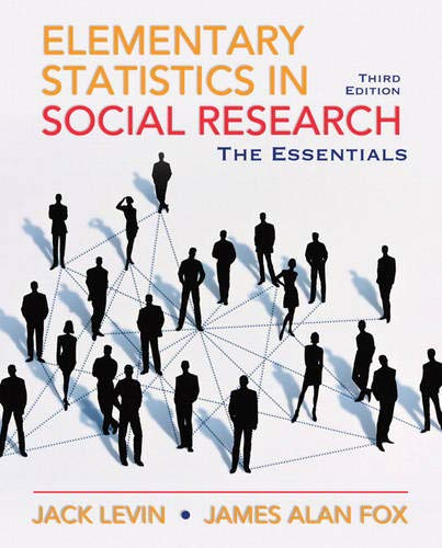 9780205638000: Elementary Statistics in Social Research: Essentials (3rd Edition)
